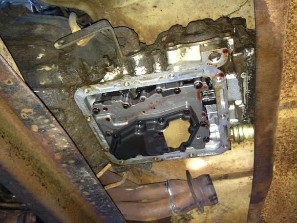 C4 Transmission pre-rebuild.