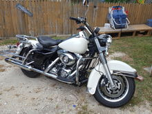 08 Road King Poice stole from NYPD ONLY 8000 MILES