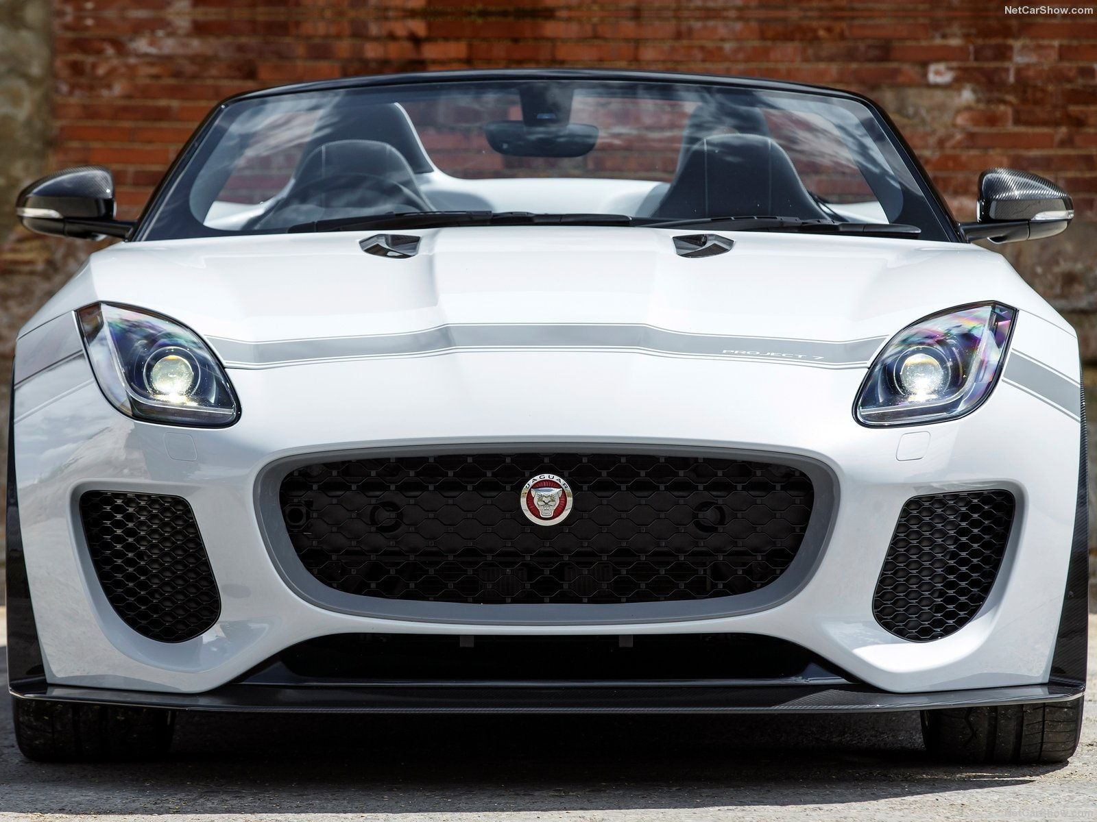 project 7 front grill detailed photo jaguar forums. Black Bedroom Furniture Sets. Home Design Ideas