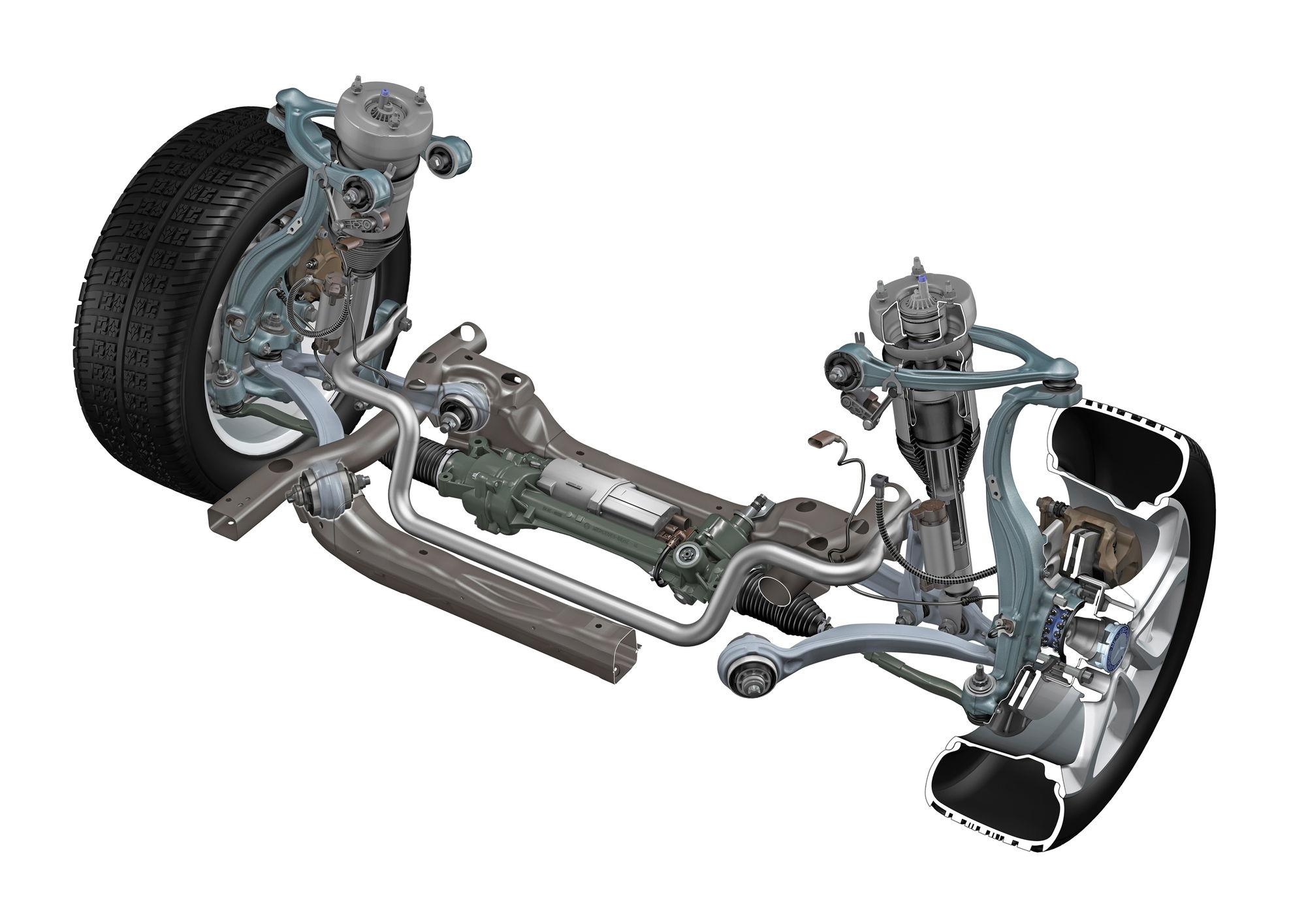 mercedes benz rear suspension diagram mustang rear