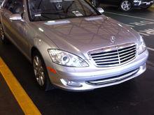 2007 S550 Iridium Silver