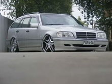 My Old C Class Wagon on 20inch Dub Wheels