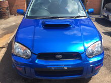Front bumper and bonnet Sold Head lights £200 Grill £80