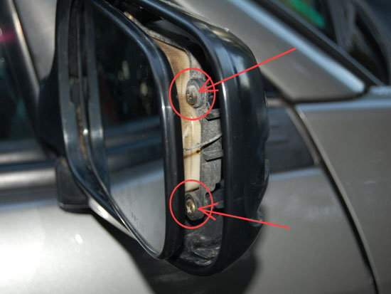 Lexus Is How To Replace Side Mirror Led Puddle Lights