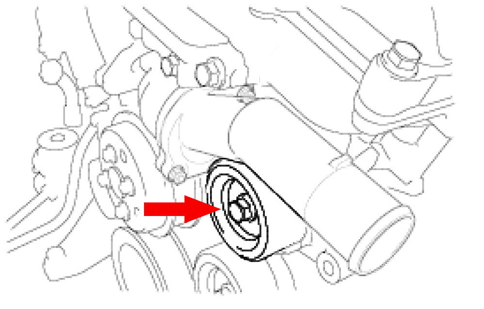 service manual  replace a thermostat on a 2003 lexus rx