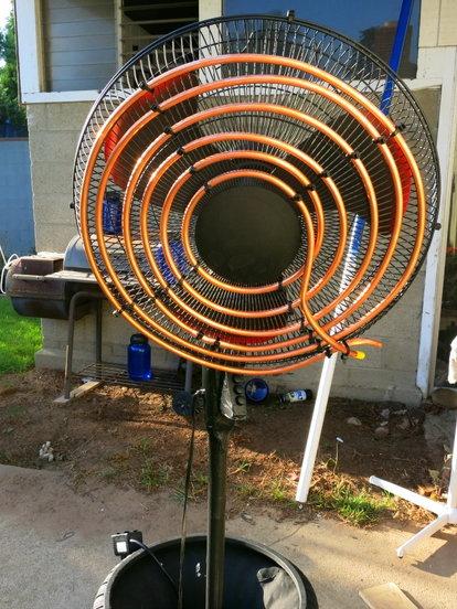DIY Air Conditioning Fan | DoItYourself com