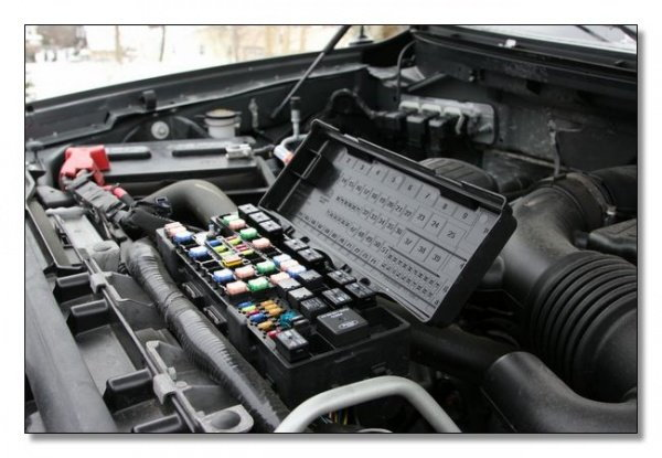Fuse Box 16968 ford f150 f250 abs light stays on ford trucks 2009 ford escape hybrid fuse box diagram at crackthecode.co