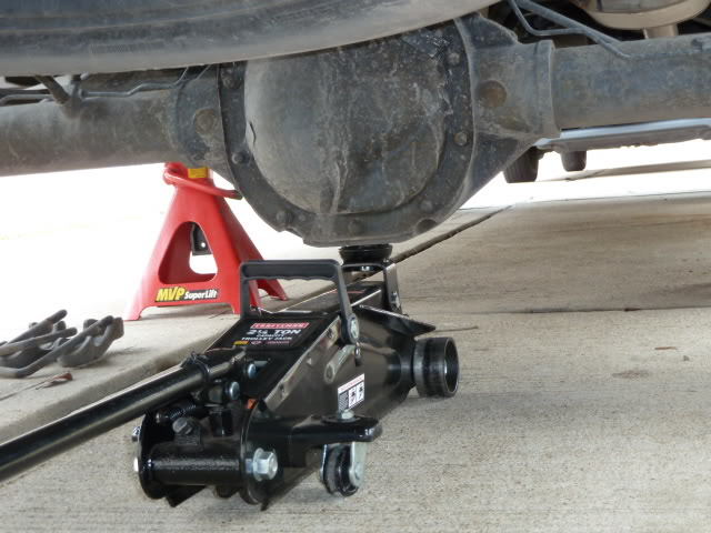 F-150 Lifted by Rear Differential