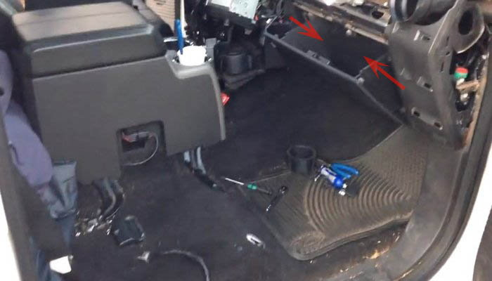 figure 6  finish removing the airbag