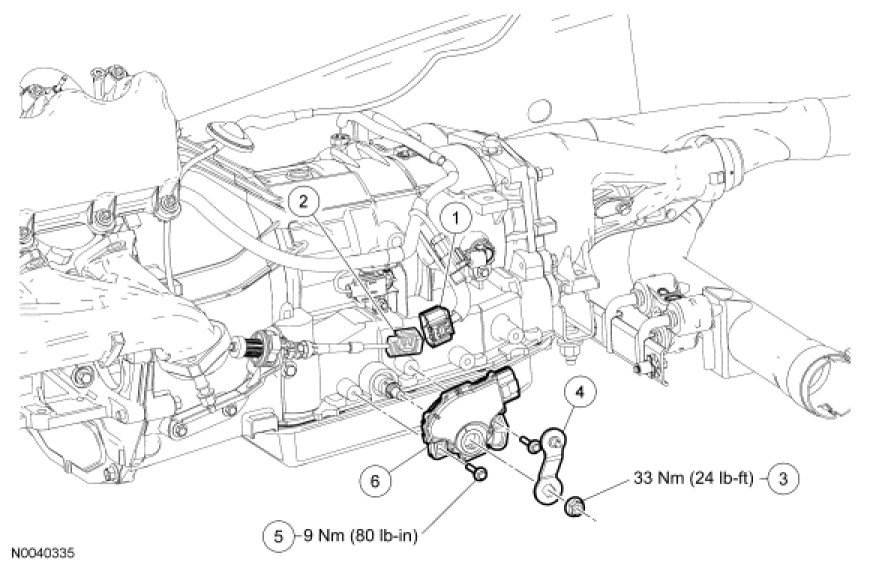 Ford F 250 Transmission Diagram