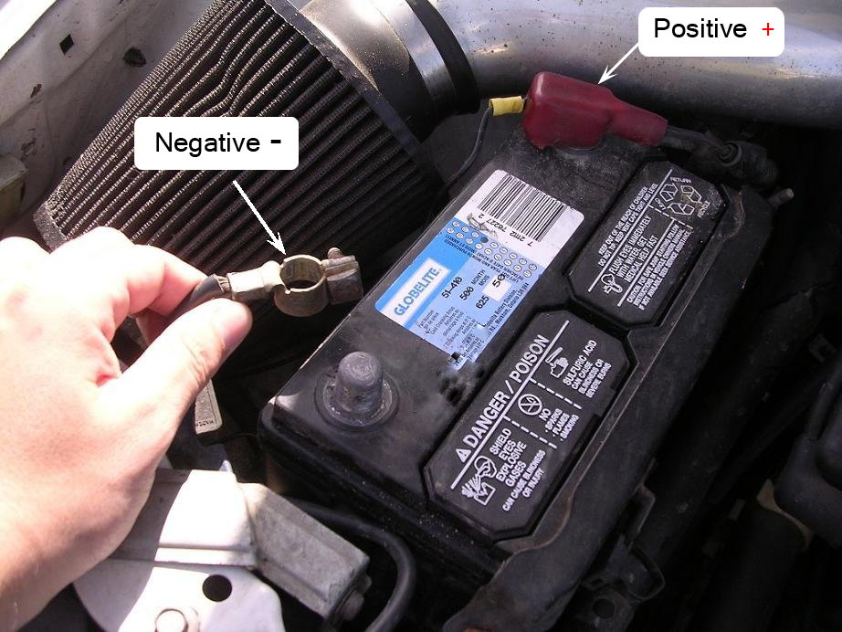 Negative On Challenger Car Battery
