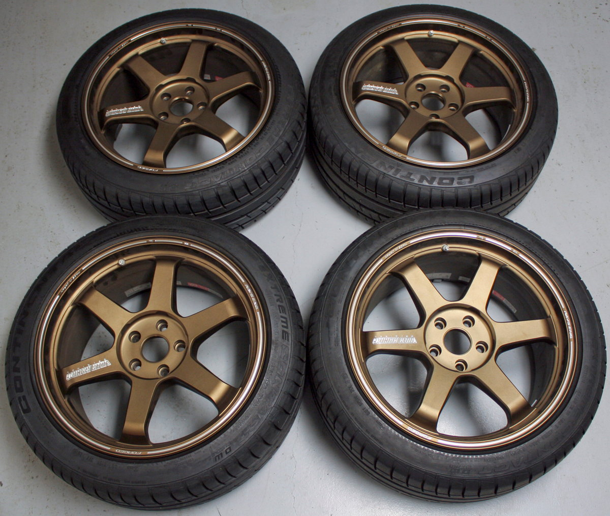 SOLD: Volk TE-37 Ultra Wheels & Tires *MINT*