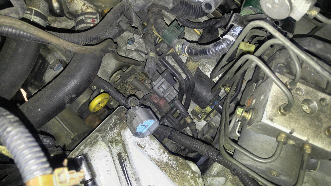 2000 Honda Accord 2nd Clutch Pressure Switch Transmission Problem