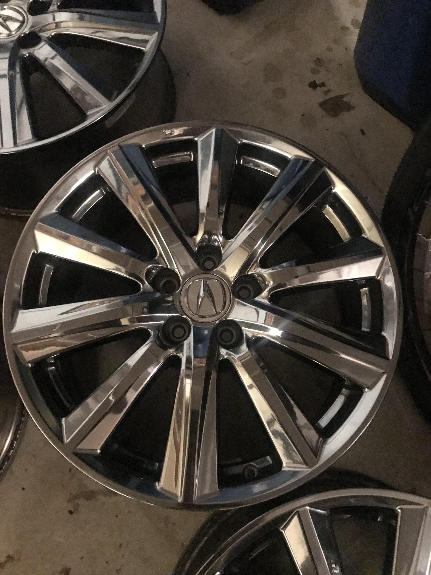mdx acura wheels chrome pvd 5x114 19x8 fs acurazine expired tires 2008 tl