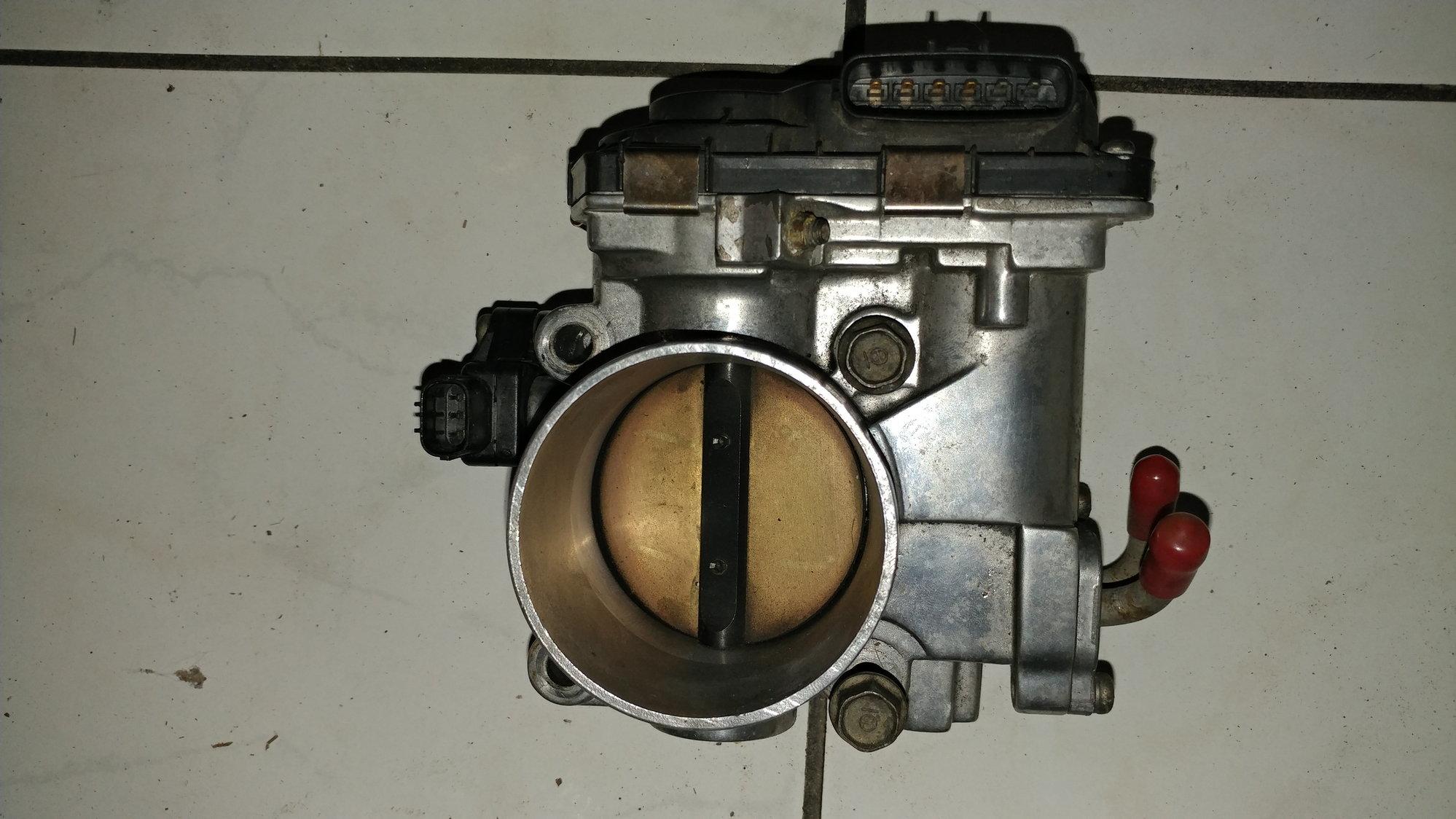Ported and Polish J32 Intake Manifold w/Polish Throttle Body