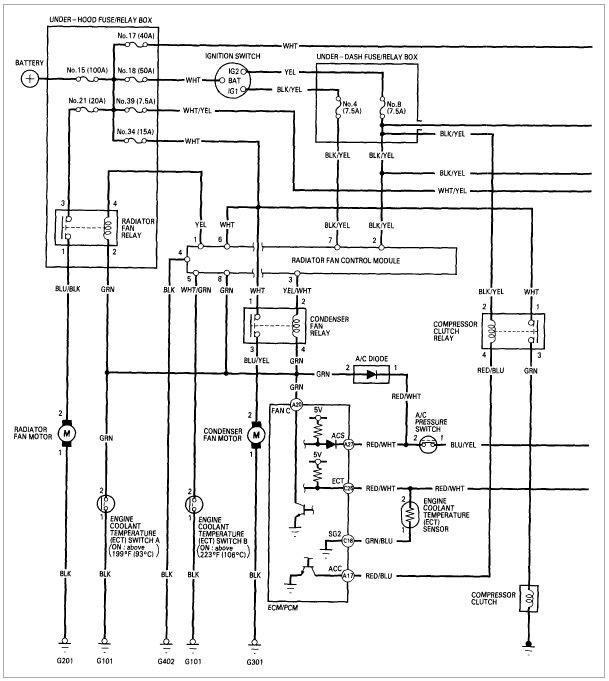 97 3 0 A/C climate control has no power - AcuraZine - Acura