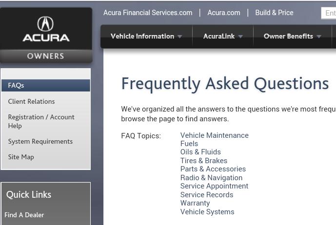 Premium FuelExplain Please AcuraZine Acura Enthusiast Community - Acura rdx fuel type