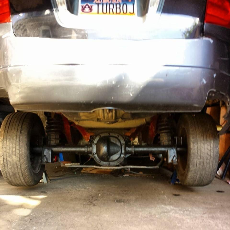 Acura Tl V8 Swap Lol....