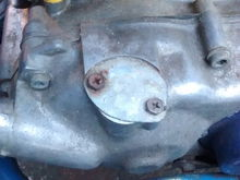 Oil injection pump removed?