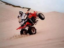 Another dune wheelie
