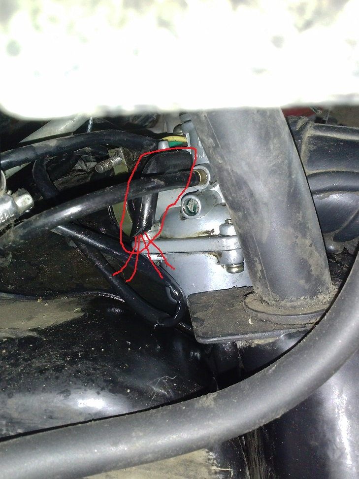 Fuel spilling out of Carb - ATVConnection com ATV Enthusiast