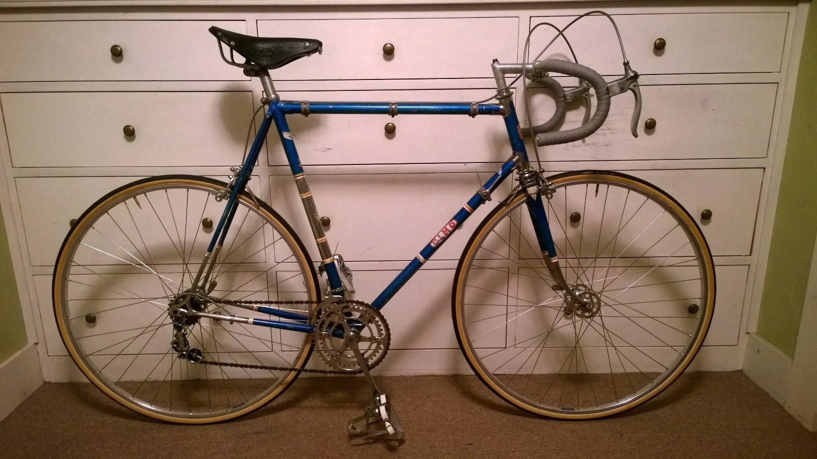 Olmo Road Bike C 1960 Restoration Project Bike Forums