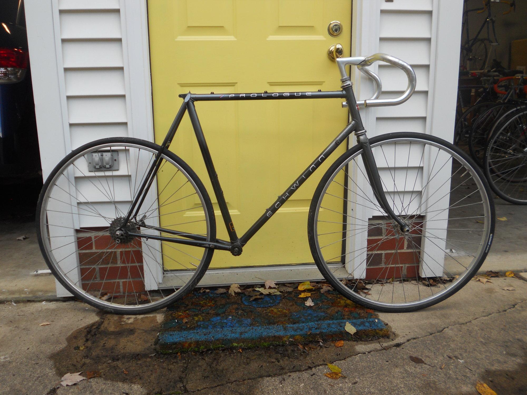 Schwinn Prologue Frame & Fork - Bike Forums