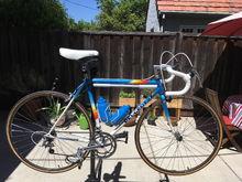1987 Peugeot Triathlon restoration