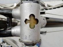 bottom bracket cleaned  'H36'