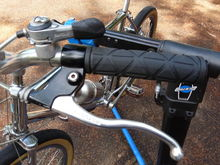 Dia-Compe motorcycle-style brake levers