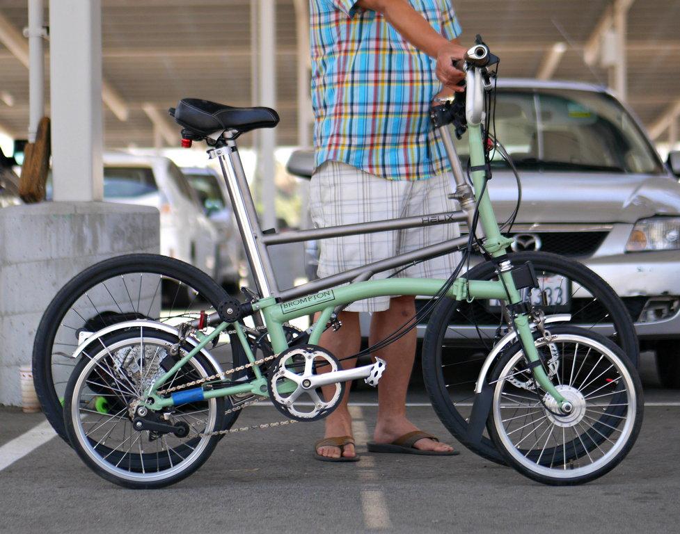 Helix Titanium Folder Owner's Review Thread - Bike Forums