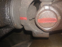 Mark the driveshaft and the yolk so they go in the same way they came out