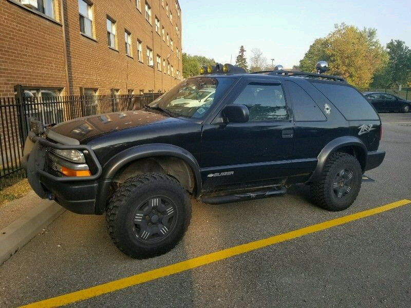 Why don't the lifts fit a zr2 - Blazer Forum - Chevy Blazer