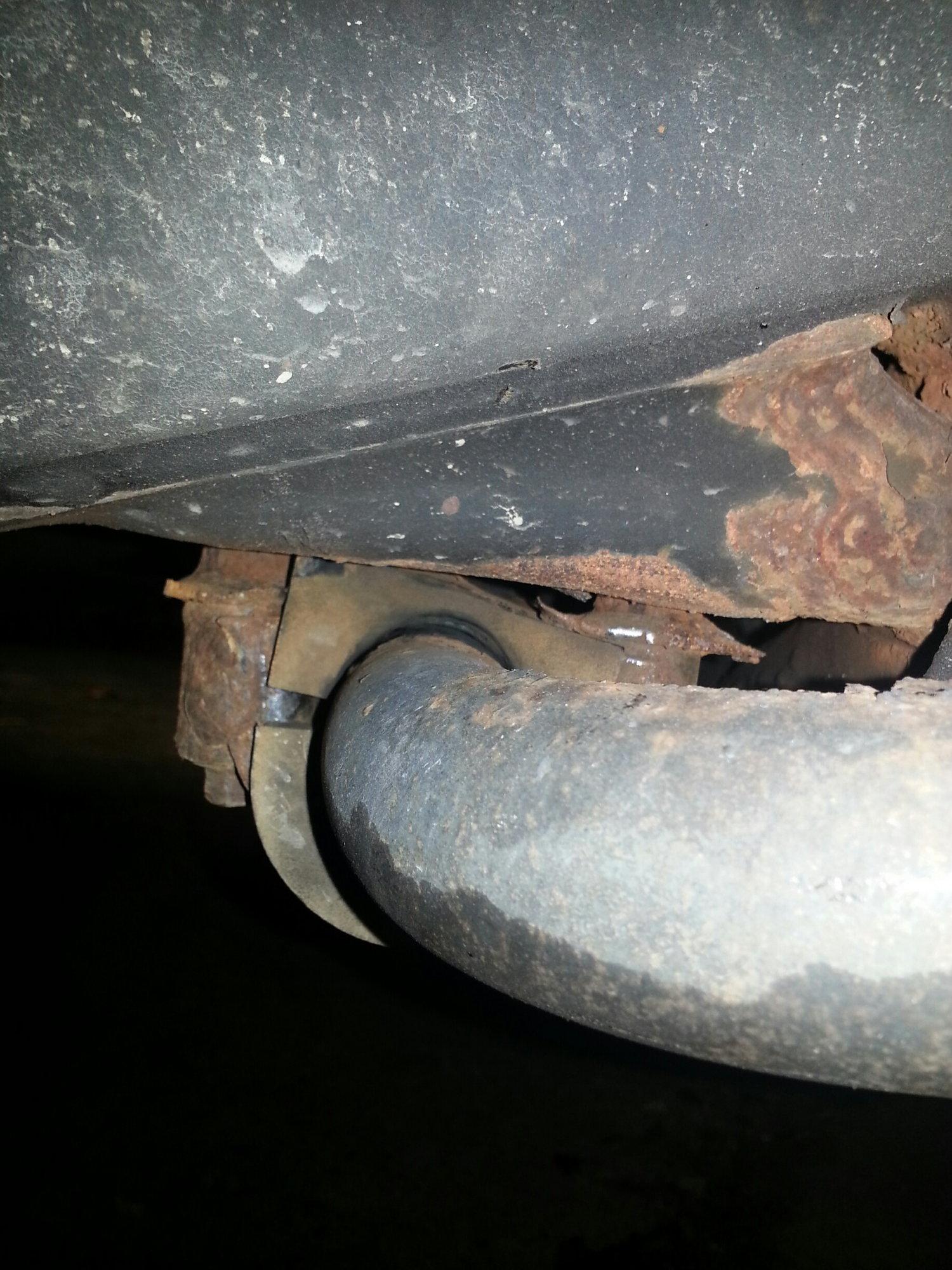 Trailblazer frame rot