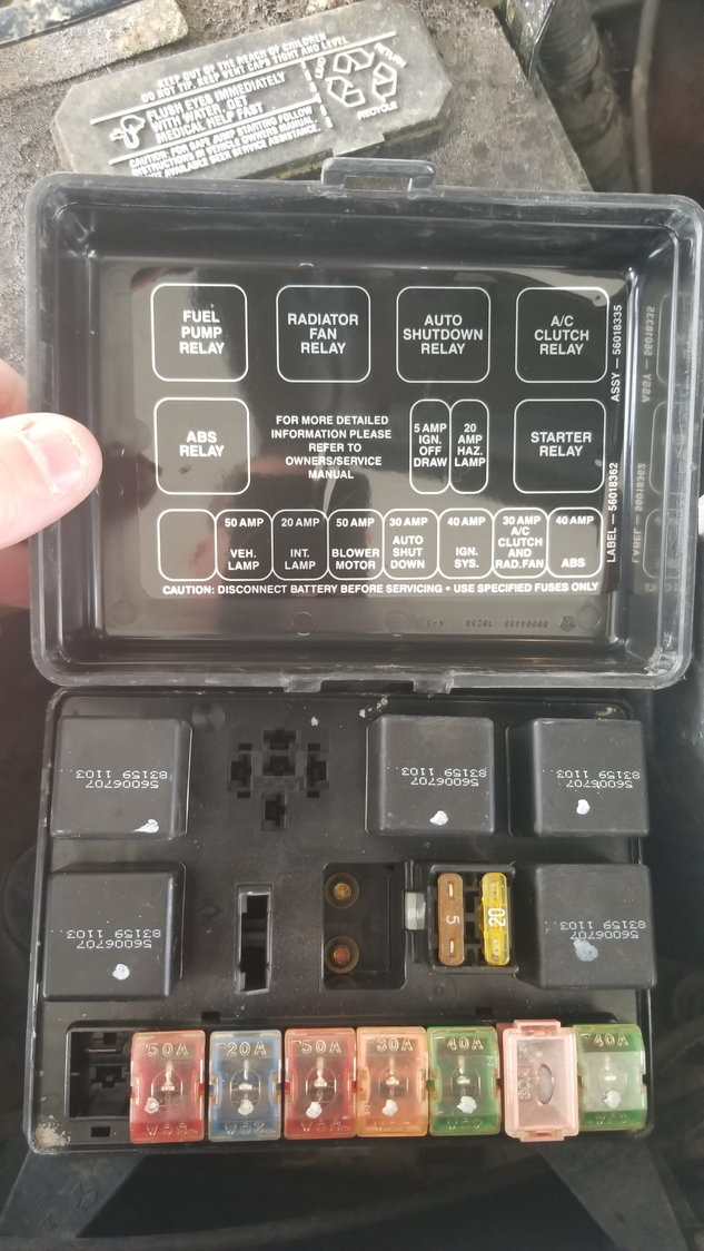 Fuse box layout - DodgeForum.comDodge Forum