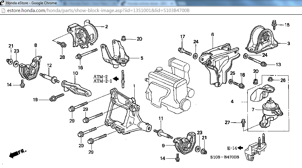 Engine mount / AC belt adjustment - Honda-Tech - Honda Forum DiscussionHonda-Tech