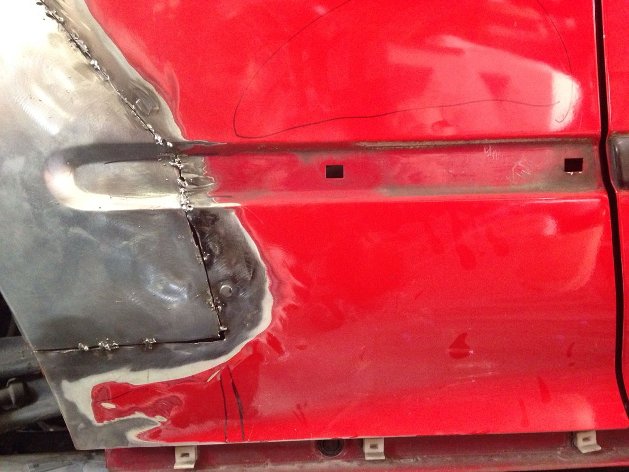 Quarter Panel Rust Repair EH2 Issues - Honda-Tech - Honda Forum Discussion