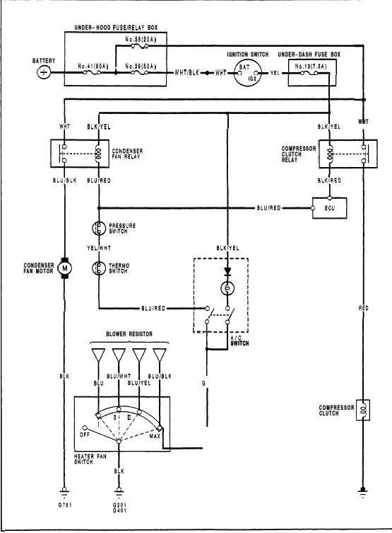Spal Fan Relay Wiring Help Honda Tech Manual Guide