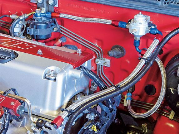 Htup Z Integra K Series Engine Swap Fuel Lines Fd C Fd Ed Cf E C F Fe E E B on Acura Integra Fuel Filter