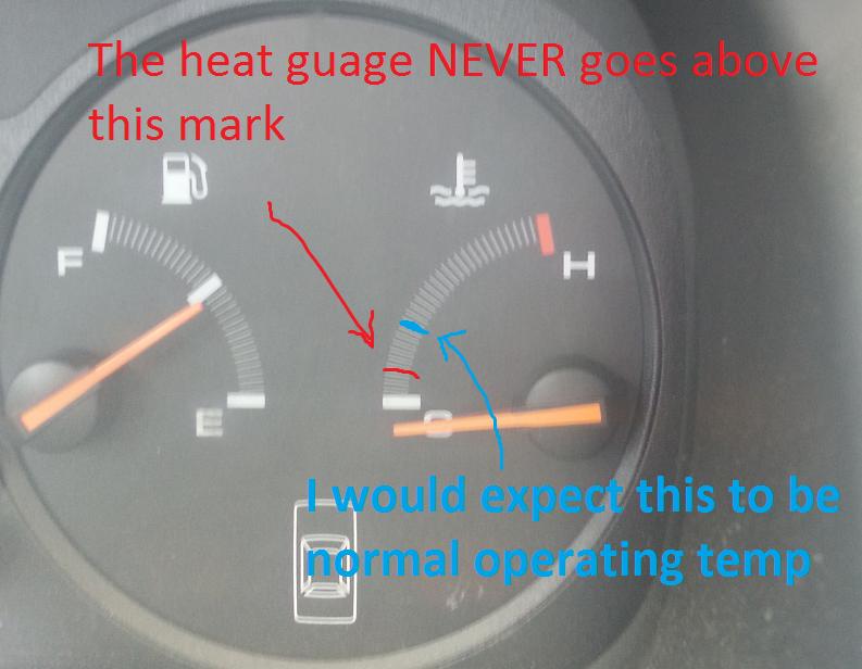 Wire for engine coolant temperature broken, gauge not reading properly -  Honda-Tech - Honda Forum Discussion | 99 Honda Accord Temperature Gauge Wiring Diagram |  | Honda-Tech