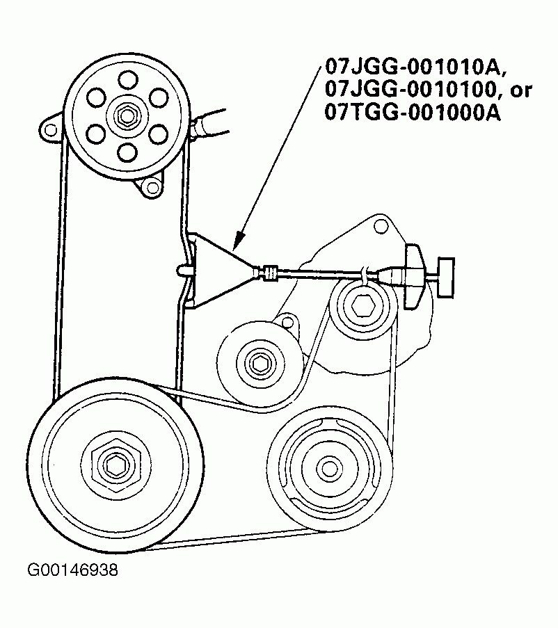 2004 Honda Cr V Serpentine Belt Diagram Wiring Harness Wiring