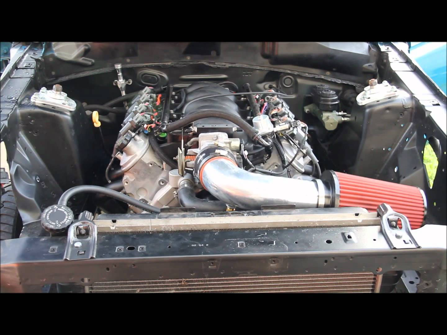 Mustang Swap Radiator Bracket  - Ls1tech