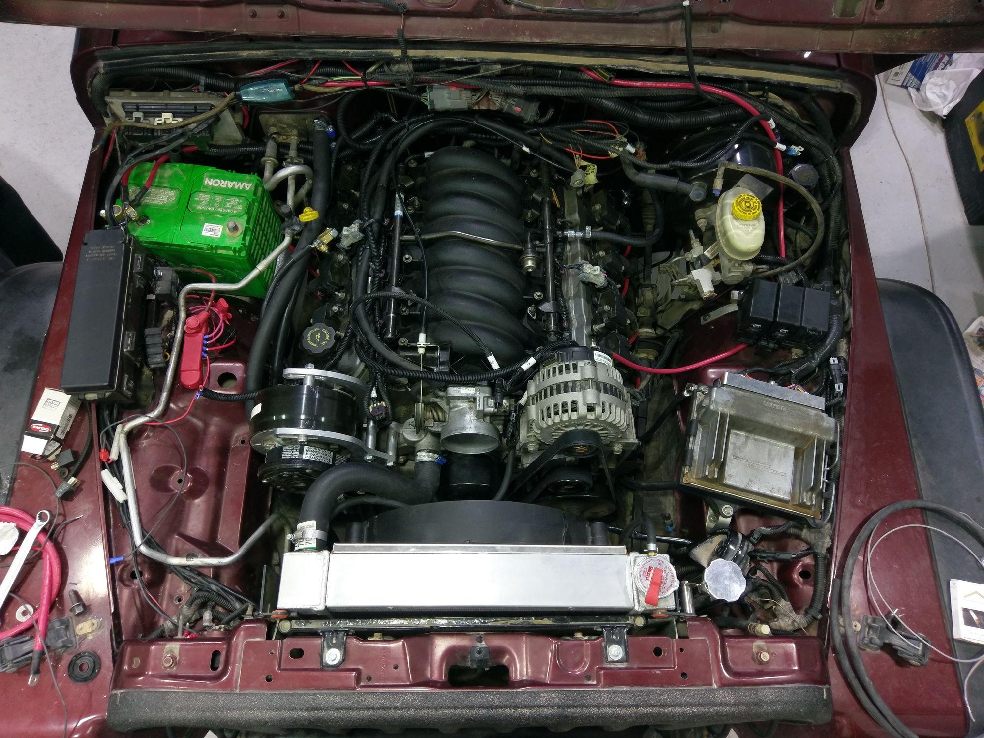 2001 Jeep Wrangler 5 7 Ls1 Swap - Ls1tech