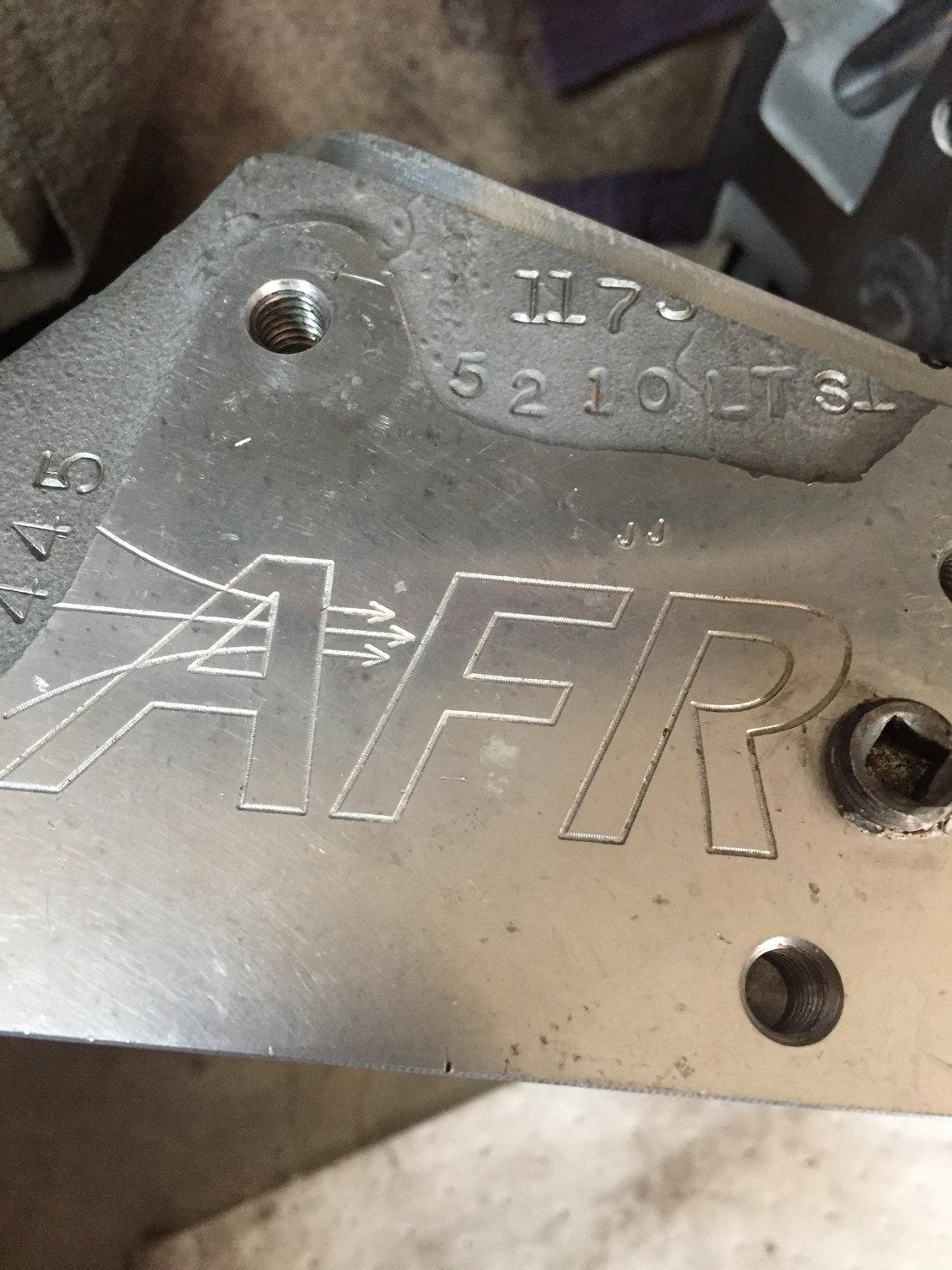AFR 210cc LT4 heads - CamaroZ28 Com Message Board