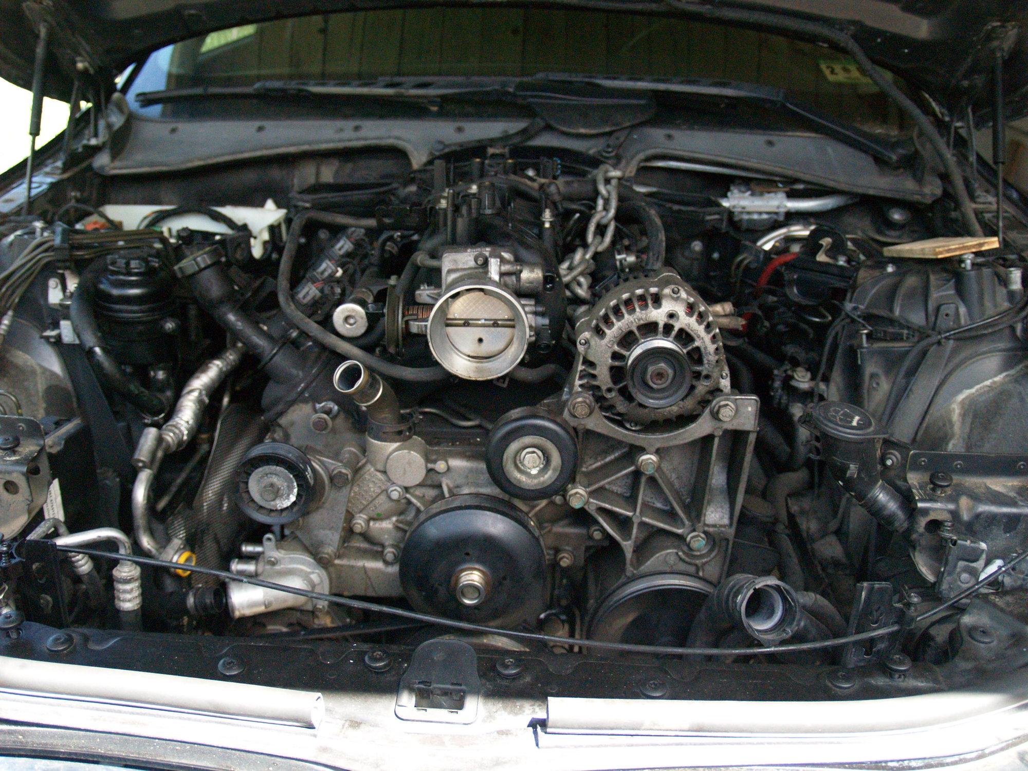 2006 bmw 745i engine swap