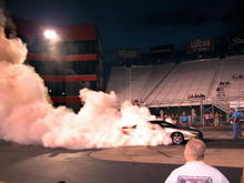 my first burnout contest