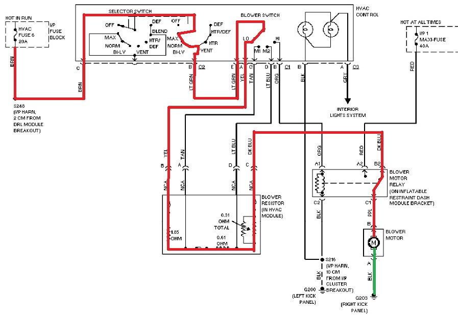 Blower motor won't work 2002 Ta - LS1TECH - Camaro and