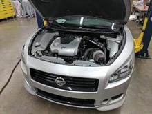 Custom Nisformance turbocharger kit