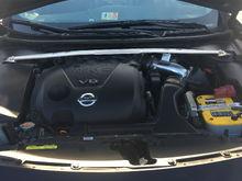 7th gen black Nissan maxima