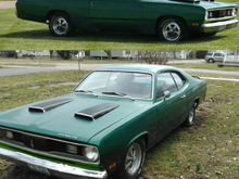 1970 Plymouth Duster transmission